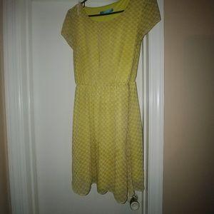 Size Small Yellow dress